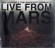 BEN HARPER & THE INNOCENT CRIMINALS : LIVE FROM MARS / 2 CD-SET - NEU