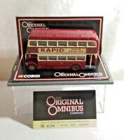 CORGI ORIGINAL OMNIBUS AEC UTLITY BUS - LEICESTER CITY TRANSPORT RTE 20 - 43904