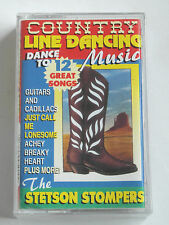 Country Line Dancing Music - The Stetson Stompers - Cassette, Used Very Good