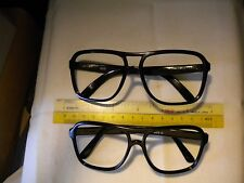 Vintage VUARNET REPLACEMENT 003D 4003D SMALLER FaceSIZE FRAMES Sunglasses BLACK