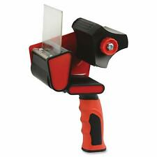 "Heavy Duty Red Packing Tape Gun Dispenser Packaging Cutter Machine 3"" Wide"