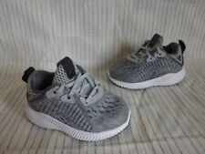 *  ADIDAS ALPHABOUNCE TRAINERS * SIZE 4 INFANT BOYS * EX COND *