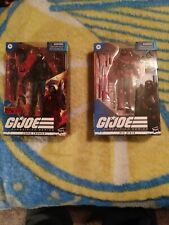 Gi joe classified target cobra trooper and Gi Joe classified Red Ninja