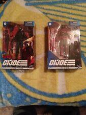 Gi joe classified target cobra trooper and Gi Joe classified Red Ninja