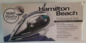 Hamilton Beach 14977 Professional Steam Iron - New Open Box