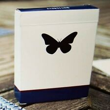 Butterfly Refills Blue Playing Cards 2 Deck Pack Poker Size Marked Cartamundi
