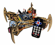 mePed v2 Quadruped Walking Arduino Robot - Complete Kit