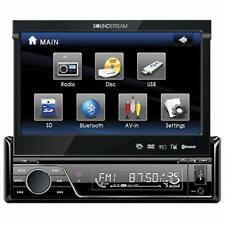 Soundstream VIR-7830B 1 DIN DVD/CD/MP3 Player Flip-Out Up Screen Bluetooth NEW!