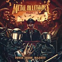 Metal Allegiance - Volume II: Power Drunk Majesty -  New CD - Pre Order - 7/9