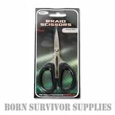 STAINLESS STEEL BRAID SCISSORS - Carp Coarse Fishing Tackle Paracord Line Snips