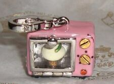 New Juicy Couture Cupcake Oven Charm for Bracelet Necklace Handbag Keychain