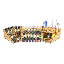 Model Painting Full Workstation Rack Kit (Vallejo, Citadel, Model Color)