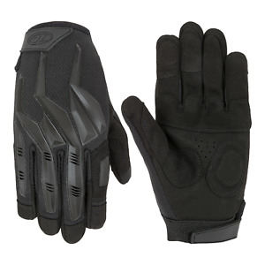 Highlander Raptor Full Gloves Military / Army Style Tactical Padded - Black