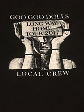 Goo Goo Dolls Long Way Home Tour 2017 Local Crew T-shirt Size XL