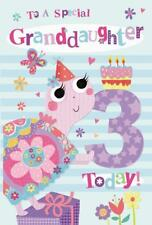 In una speciale nipote 3rd 3 oggi LUMACA & Cake Design Happy Birthday Card