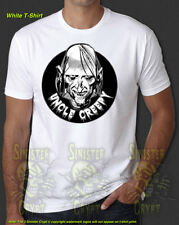 Uncle Creepy Horror Cult Monster Kid Zombies Retro New T-Shirt S-6XL