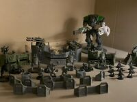 IMPERIAL GUARD WALL OF MARTYRS Warhammer 40k lot Astra Militarum Sentinel Cadian