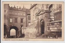 AK Krakow, Krakau, Wawel, Katedra, Kathedrale, 1931