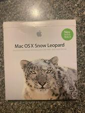 Apple Mac OS X Snow Leopard - (V. 10.6.3) Retail Deutsch