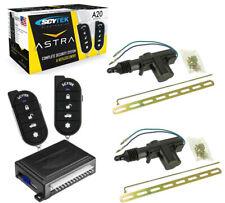 Car Alarm Security System 2 Door Locks Keyless Entry 2 Remote Control Scytek A20