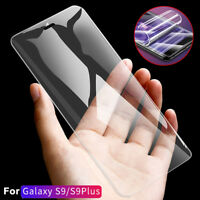 For Samsung Galaxy S7 Edge S9 Plus 3D Curve PET Front+Rear Screen Film Protector