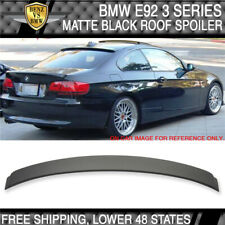 07-13 BMW E92 3 Series 2Dr Couple Rear Roof Spoiler Wing Matte Black Painted ABS