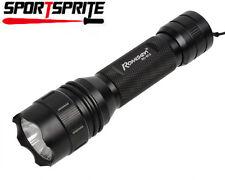 Tactical RoMiSen RC-B12 CREE Q5-UV 2 Mode 800LM Hunting Flashlight Torch Light B