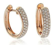 Hoop Rose Gold 18 Carat Fine Earrings