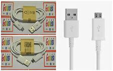 CAVO BIANCO MICRO USB UNIVERSALE DATI SYNC CABLE UNIVERSAL(SAMSUNG, SONY, HTC,.)