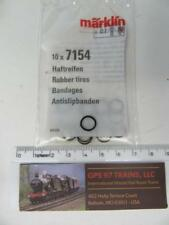 HO - Marklin Spare/Repair Parts 7154 - Traction Tires (Pack of 10)  - New