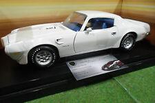 PONTIAC TRANS AM blanc 1973 au 1/18 AMERICAN MUSCLE ERTL 32755 voiture miniature