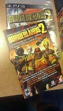 PS3 Borderlands 2 DLC Sky Rocket Grenade & Character Skins/Heads - NO REFUNDS