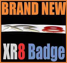 1 - ONE of XR8 FLEXIBLE STICKER BADGE WITH DOUBLE SIDED TAPE