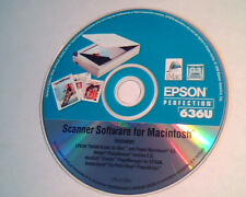 CD Epson Perfection 636U Scanner driver for Macintosh Apple iMac Adobe Photodelu