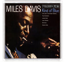 MILES DAVIS KIND OF BLUE 1959 LP COVER FRIDGE MAGNET IMAN NEVERA