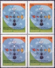 2001 Dialogue among civilizations - Bangladesh - block of four
