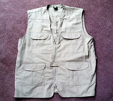 Rothco Men's Concealed Carry Vest Size XL Tan Tactical Travel Vest