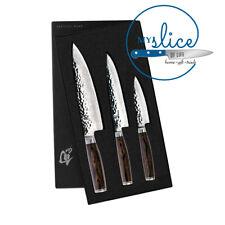 Shun Premier 3 Piece Knife Set in Gift Box TDMS300 - MADE IN JAPAN
