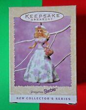 NEW Hallmark Keepsake Ornament Barbie Springtime 1995 Easter Collection