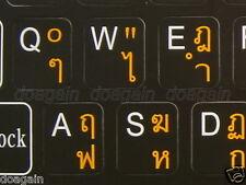 Highest Quality THAI Kedmanee Keyboard Stickers Fast Free Postage Australia Wide