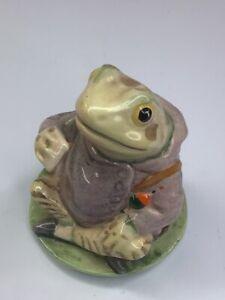 """Royal Albert Beatrix Potter's """"Jeremy Fisher"""" Vintage England Porcelain"""