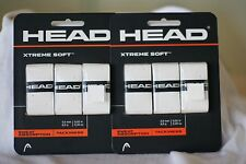 Head Over Grip Xtreme Soft White, One Set Of Three Overgrip: Two Sets