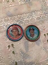 Vintage 1971 Topps Coin #25 Al Ferrara Baseball And 134 Ken Harrelson Set Of 2