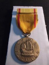 WWII Navy China Service Medal and Ribbon.China