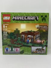 LEGO Minecraft - The First Night (21115) New Sealed in Box Steve Creeper Pig