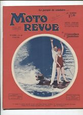 Moto Revue N°439  ;  8 aout 1931 : les motos de course actuelle