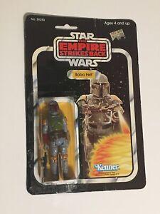 * STAR WARS * 1980 Kenner Boba Fett ESB 31 Back Empire Strikes Back , Jedi FIXED