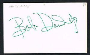 Bob Dandridge signed autograph auto 3x5 index card Basketball Milwaukee Bucks