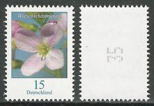 Wiesenschaumkraut 15 Ct. - Einzelmarke mit Zählnummer - postfrisch - Mi.Nr. 3424