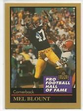 MEL BLOUNT 1991 Enor HOF Greats card #15 Pittsburgh Steelers NR MT